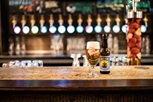 Bier op de bar